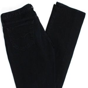 Goldsign Rinsed Black Wash Bootcut Jeans Sz 26